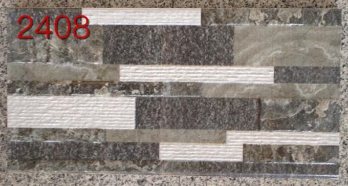 """ 8 MM Thickness Sandstone Wall Tiles 3D Digital Inkjet Printing Uneven Finished"