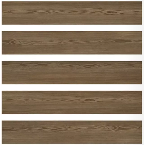 Acid - Resistant Wood Effect Porcelain Outdoor Tiles 11mm Thickness