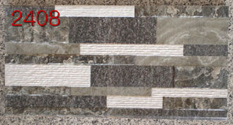 Good Quality Glazed Ceramic Tile & Outdoor 200 X 400 Wall Tiles  ,  Brick Tiles For Exterior Walls  Villa Area on sale