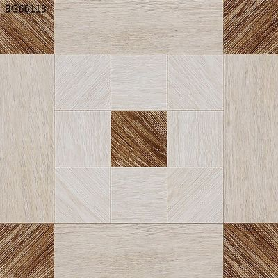 Good Quality Glazed Ceramic Tile & Wood Design Glazed White Polished Floor Tiles 600x600  Living Room Interior on sale