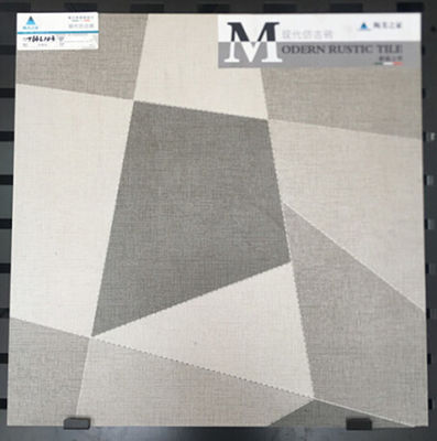Good Quality Glazed Ceramic Tile & 600x600mm Inkjet Ceramic Tile In Bathroom , Custom Made Grey Ceramic Floor Tile on sale