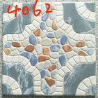 Building 400x400 Floor Tiles , Decorative Blue Rustic 400mm Floor Tiles