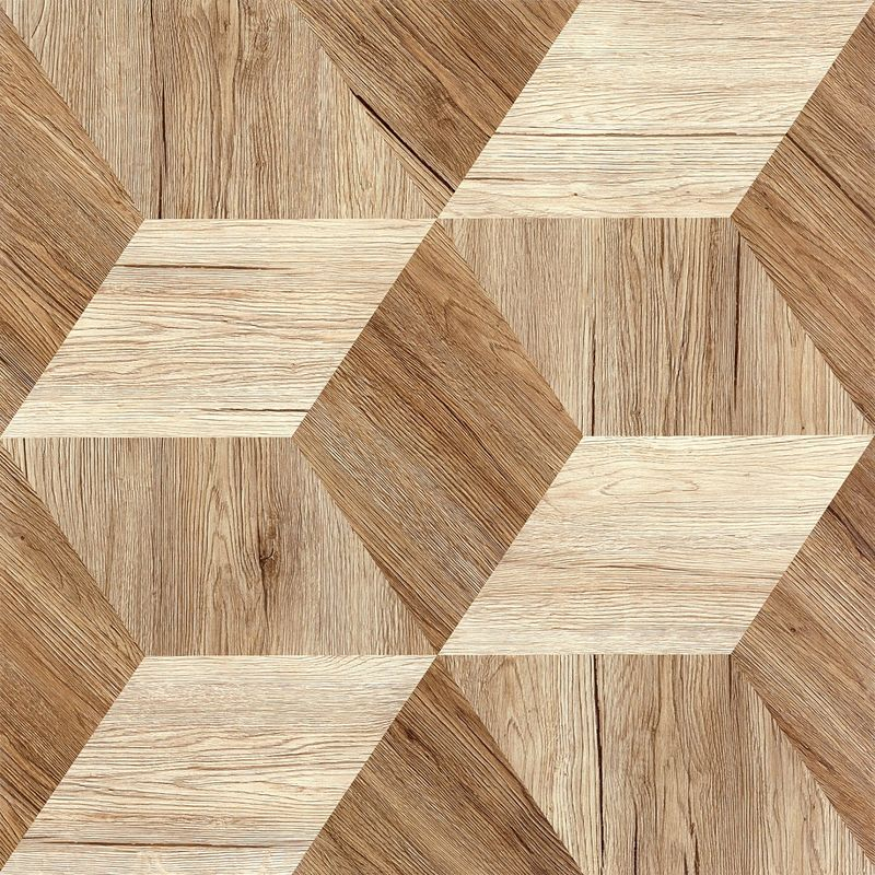 Matt Finished Porcelain Wood Effect Floor Tiles High Gloss  Waterproof