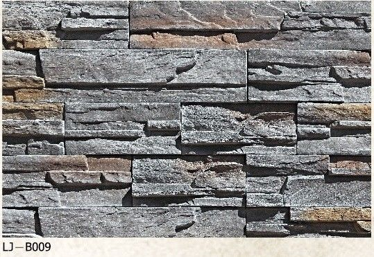 Fashion Design Artificial Culture Stone Faux Stone Siding Panels Wall Decoration