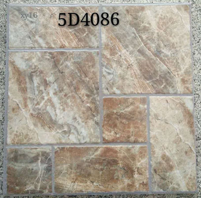 China Light  Villa Garden  400 X 400 Ceramic Tiles  Anti Slip  Matte Finished factory