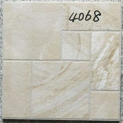 China Decorative 400 X 400 White Tiles  For Bathroom Shower Non Slip Ceramic factory