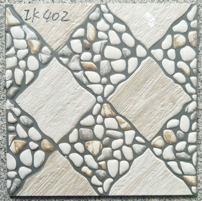 Shiny  40x40 Floor Tiles New Model  In Bathroom Antislip Anti High Temperature
