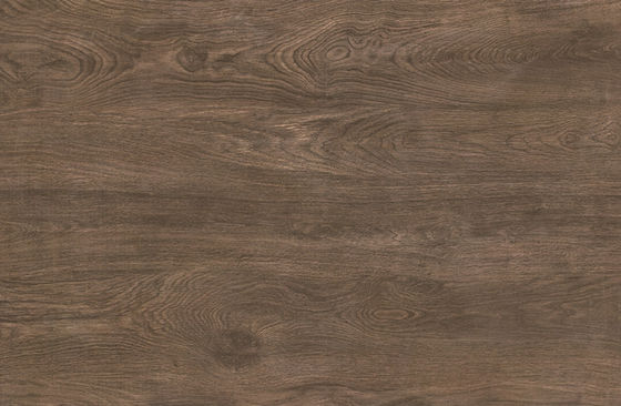 China Elegance Wood Effect Porcelain Tiles In Bathroom , Dark Brown Wood Porcelain Tile factory