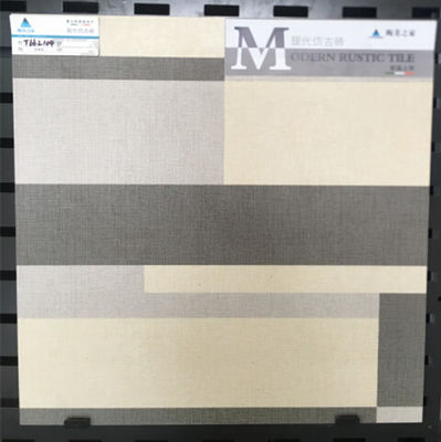 GRAY Inkjet Ceramic Tile New Technology   , Glossy Custom Printed Ceramic Tiles