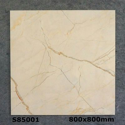 China Yellow Inside Stone Glazed Split Floor Tile Water Proof 800x800x10mm factory