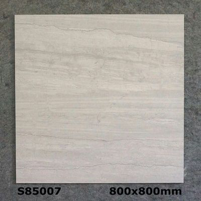 Light Gray 800x800mm Rustic Floor Tile Glazed Split Ceramic Rustic Inside Tile